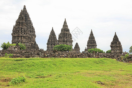 印度尼西亚日惹著名景点婆罗浮屠图片