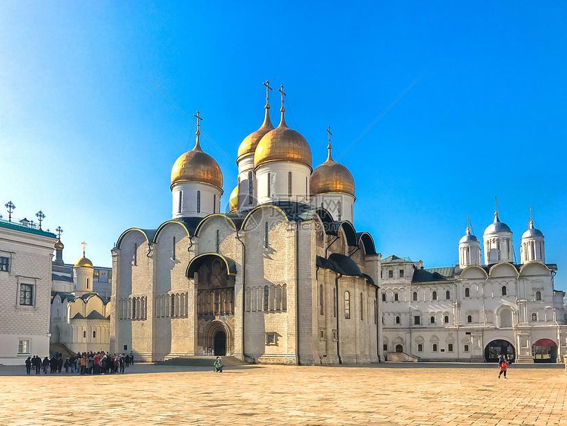 莫斯科圣母升天大教堂图片