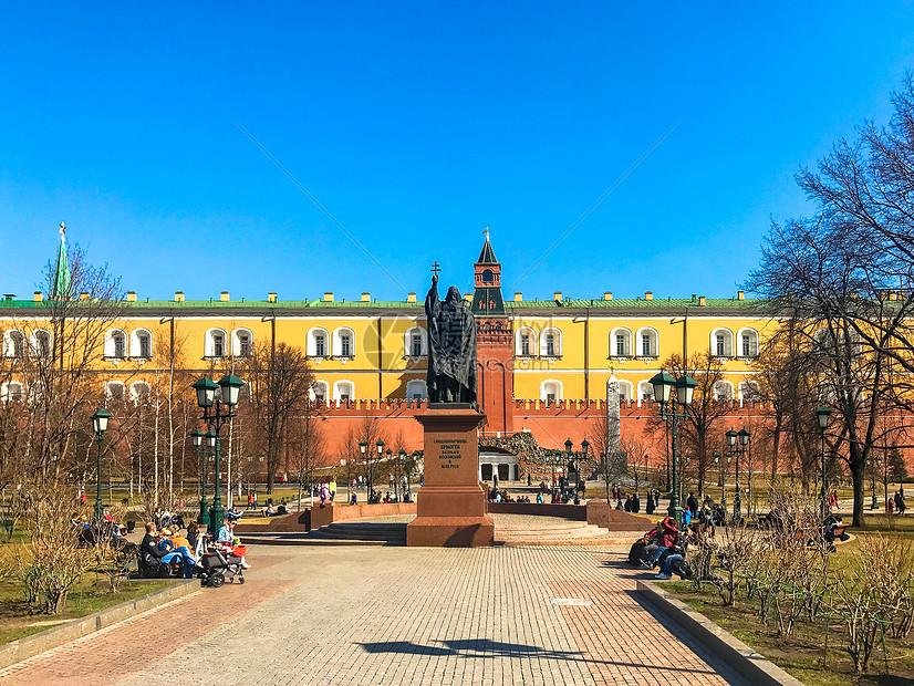 莫斯科克里姆林宫图片