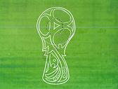 世界杯创意航拍图片