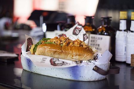 龙虾汉堡图片