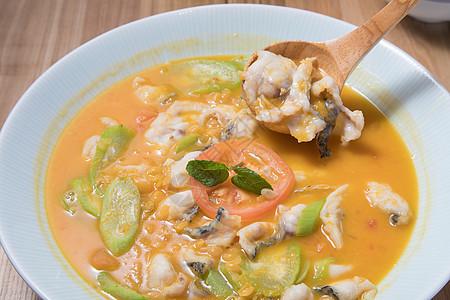 咖喱鱼片图片