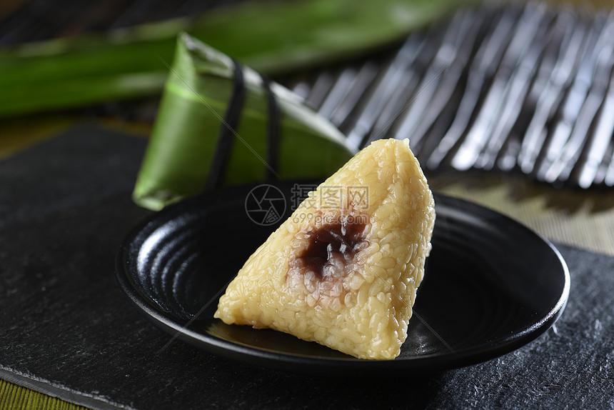 豆沙粽子图片