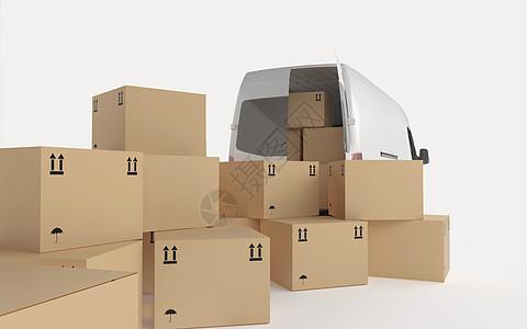 物流运输背景图片