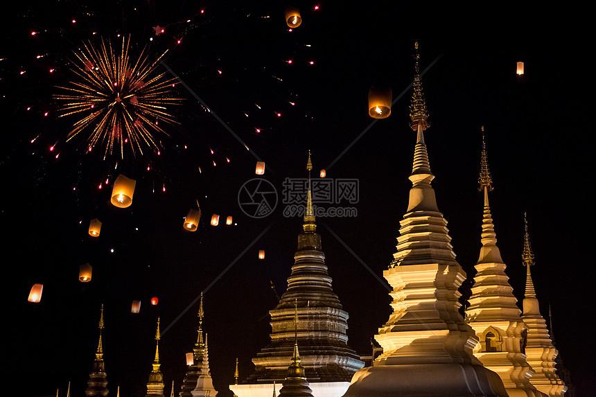 泰国千灯节图片