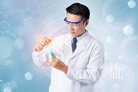 医学研究背景图片