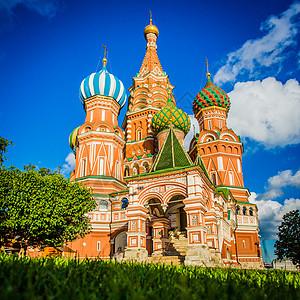 俄罗斯莫斯科圣瓦西里大教堂图片