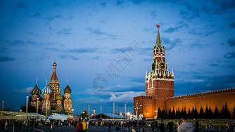 俄罗斯莫斯科红场图片