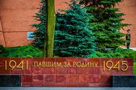 俄罗斯莫斯科无名烈士墓图片
