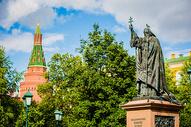 俄罗斯莫斯科红场雕像图片