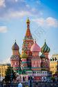 俄罗斯莫斯科圣瓦西里教堂图片