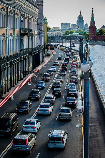 俄罗斯莫斯科红场交通图片