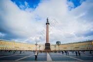 俄罗斯圣彼得堡冬宫广场500943114图片