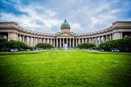 俄罗斯圣彼得堡喀山大教堂图片