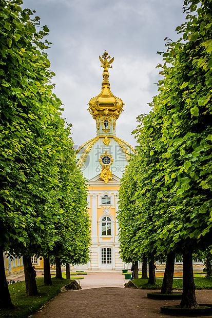俄罗斯圣彼得堡夏宫图片