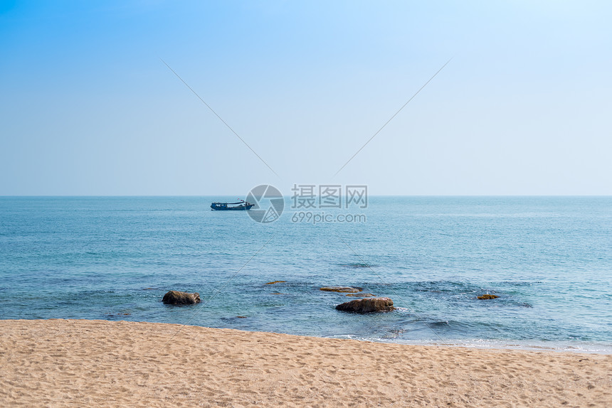 海南三亚海滨风光图片