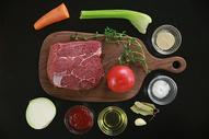 罗宋汤食材图图片