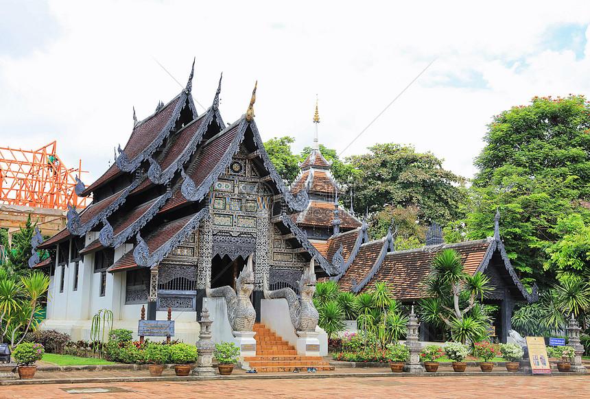 泰国清迈寺庙图片