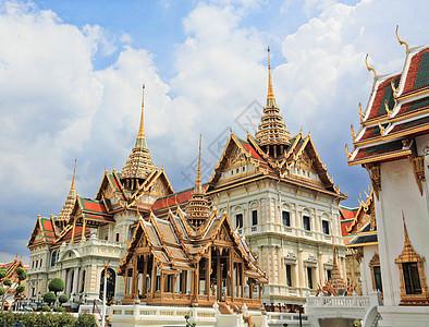 泰国曼谷大皇宫建筑群图片
