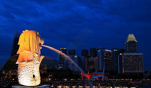 新加坡鱼尾狮图片