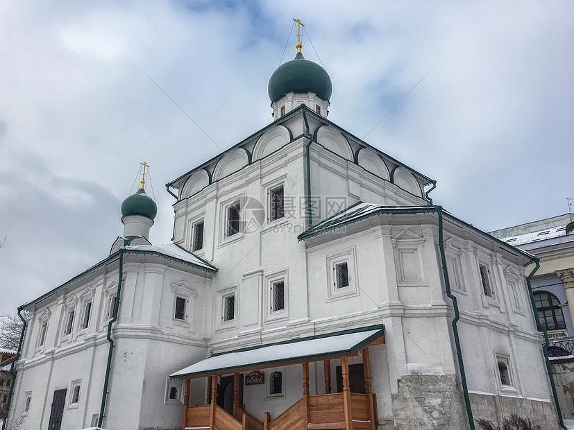 俄罗斯莫斯科东正教教堂图片