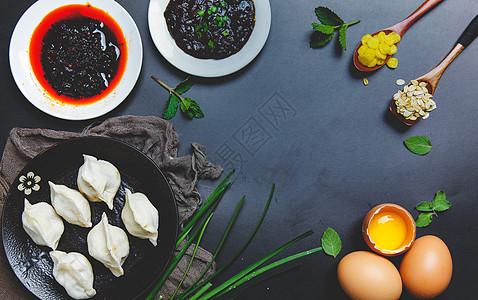 饺子制作图片