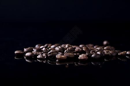 咖啡豆手绘