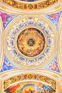 俄罗斯圣彼得堡滴血救世主教堂图片