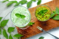 夏季冰爽绿豆沙图片