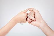 双手手势棚拍图片