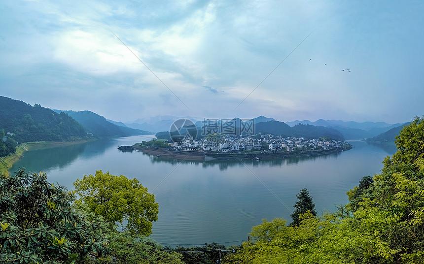 新安江风光新安江山水画廊图片