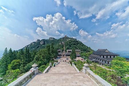 湖北黄陂木兰山景区全景图片