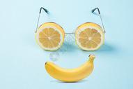 笑脸水果图片