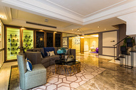 大空间的客厅布置图片