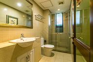 宽敞的欧式风卫生间图片