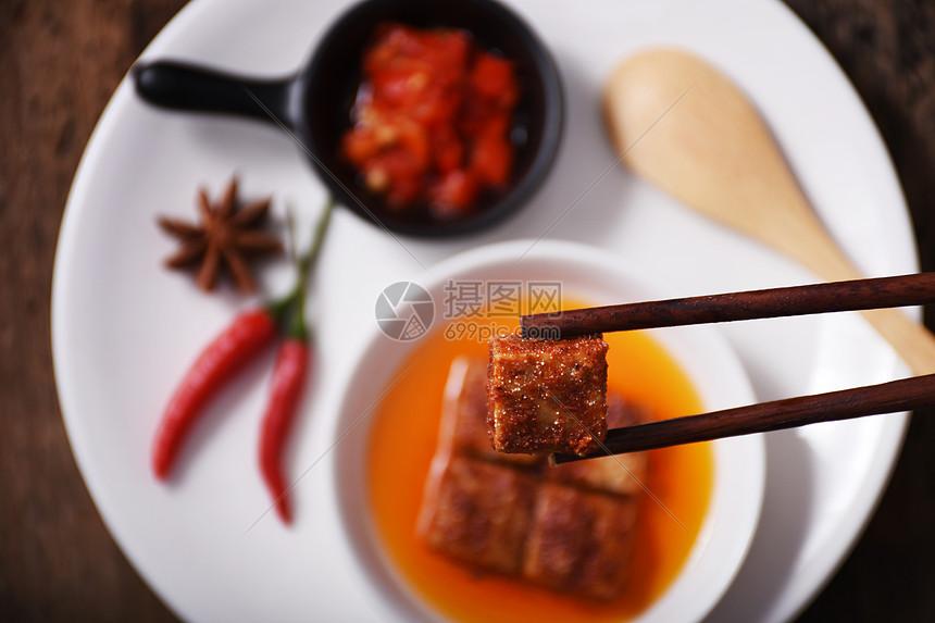 传统特色美食腐乳图片