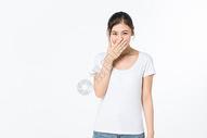 开心的女孩图片