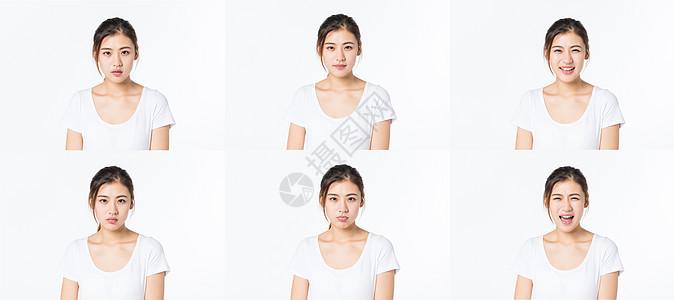 女孩表情包图片