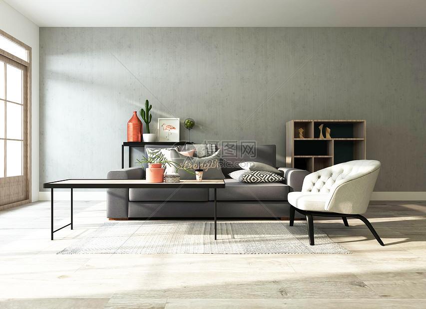 欧式loft风格室内家居图片