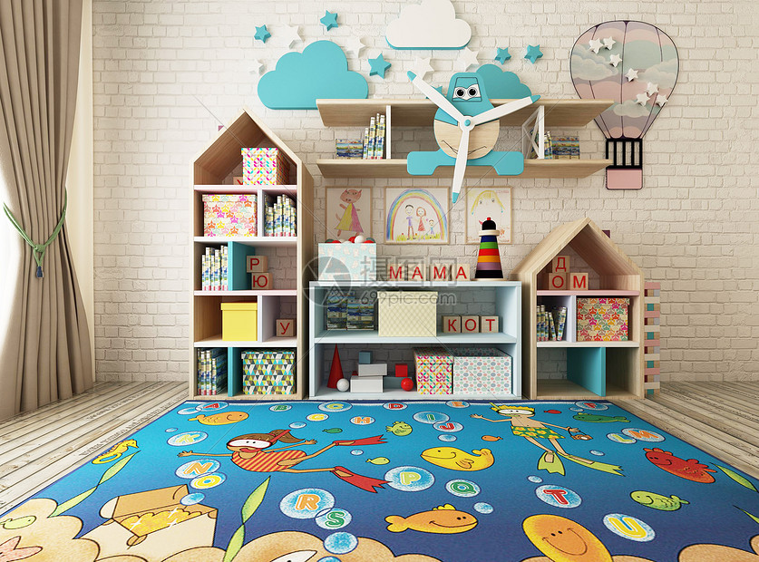 儿童室内空间图片