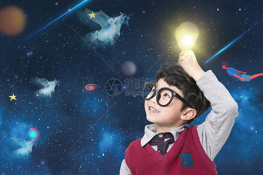 儿童的想象力图片