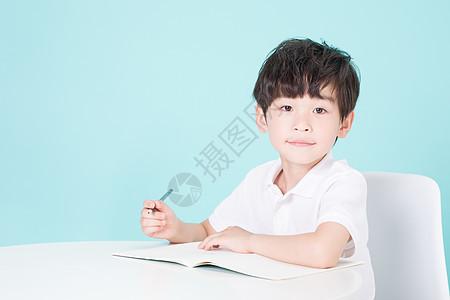 stay书桌前学习�男�男孩儿童教育picture