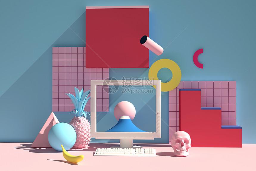 创意艺术空间图片