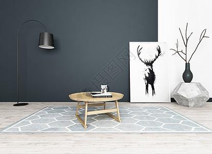 欧式loft风格室内家具图片