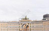 俄罗斯圣彼得堡冬宫广场500946631图片