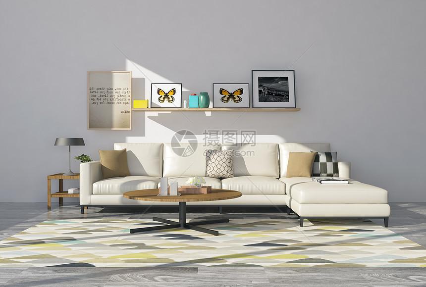 现代简约沙发图片