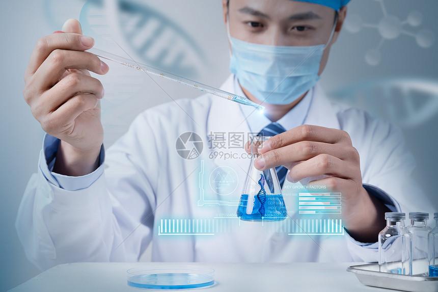 DNA分子细胞研究图片