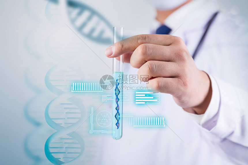 DNA分子研究图片