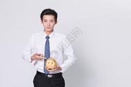 商务男士理财金融图片