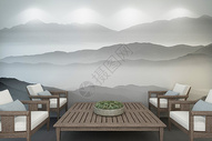 中式空间设计500948055图片